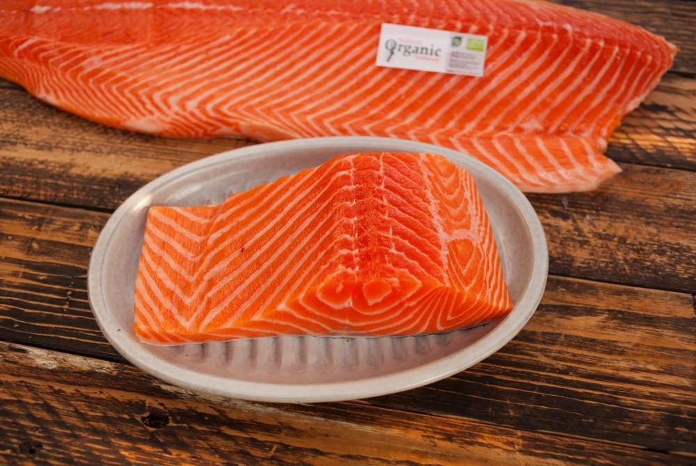 Cá hồi tươi phi lê – Phần đầu