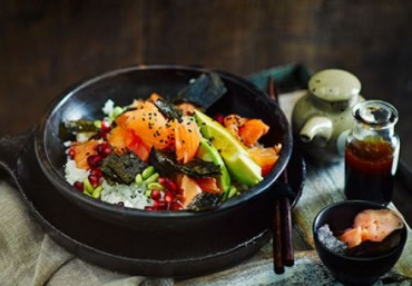 Salad Sushi cá hồi